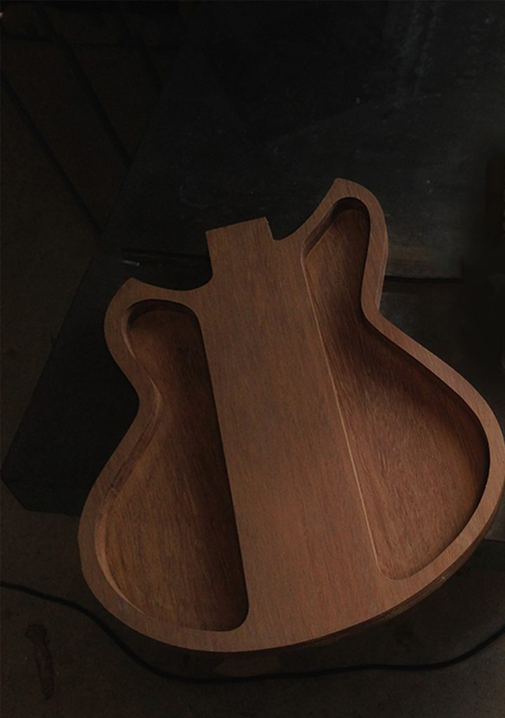 image of guitar body